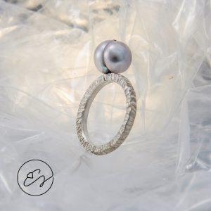 """Sidabro žiedas """"Vienišius"""""""