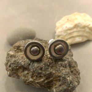 Maži kasdieniai auskarėliai su perlais
